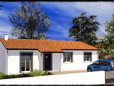 Maison classique de plain-pied Teck – 90 m²