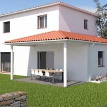 Maison individuelle contemporaine à étage Azobé – 123 m²