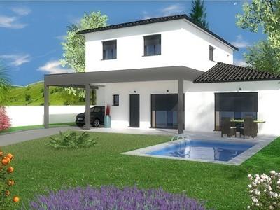 Maison contemporaine à étage Bilinga – 132 m²