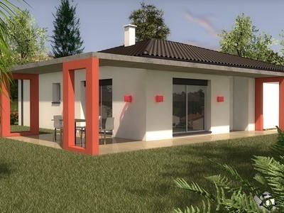 Maison contemporaine de plain-pied Kamotte – 100 m²