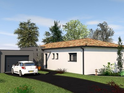Maison contemporaine de plain-pied Ebiara – 110 m²