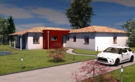 maison contemporaine de plain-pied 146 m2 MAYAPIS