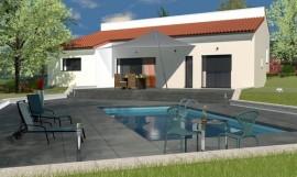 maison contemporaine demi-niveau115m2 IPE