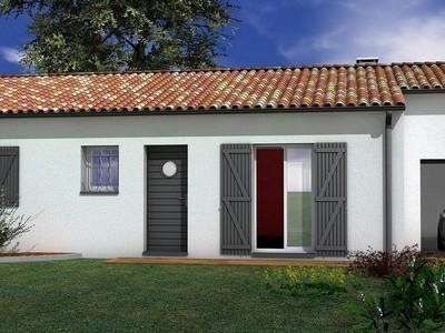Maison de plain-pied Kuruba – 75 m²