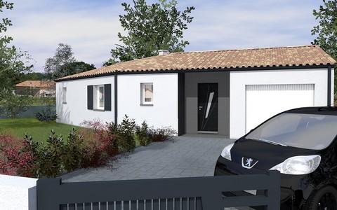 maison de plain-pied 90 m2