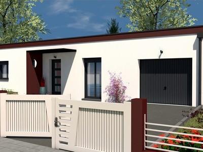 Maison moderne de plain-pied Sycomore – 93 m²