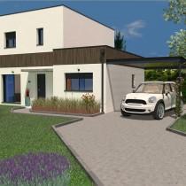 Maison individuelle à étage Movingui – 108 m²