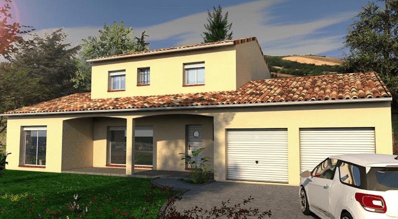 maison individuelle à étage Tamarinier-140 m2