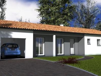 Maison traditionnelle de plain-pied Epicea – 100 m²