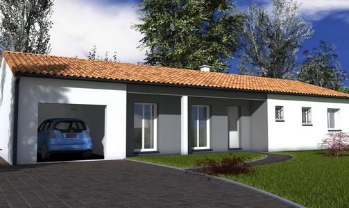 maison individuelle de plain-pied100 m2 EPICEA