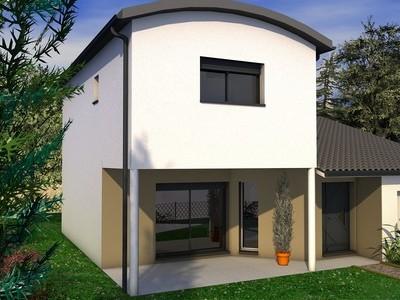 Maison individuelle moderne à étage Oranger – 130 m²