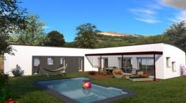 maison moderne de plain-pied 143m2 AMBOISINE