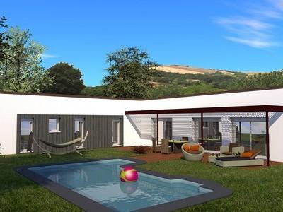 Maison individuelle moderne de plain-pied Amboisine – 143 m²