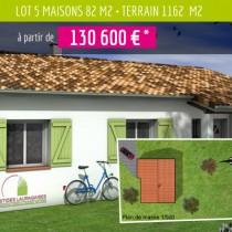 Lotissement Dareaux – Construction RT 2012 à Madière (09)