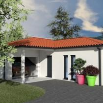 Maison contemporaine de plain-pied Kapur – 117 m²