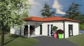 Maison contemporaine de plain-pied 117 m2 KAPUR
