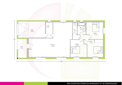 Plan Maison 160 M2 Plain Pied. Good Plan Maison Toulouse With Plan