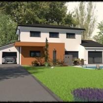 Maison contemporaine à étage Muiratinga– 160 m²