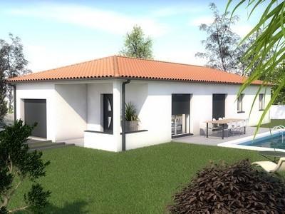 Maison individuelle de plain-pied Bonsai – 92 m²