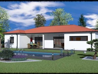 Maison moderne de plain-pied Copaiba – 126 m²