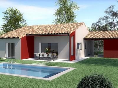 Maison classique de  plain-pied CHAWARI – 119 m²