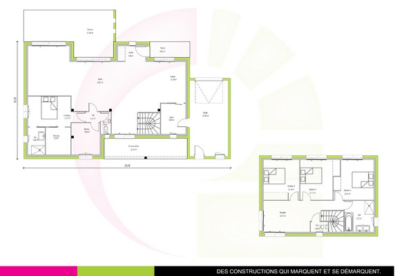 Maison Contemporaine A Etage Muiratinga 160 M