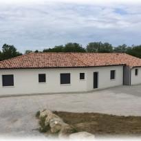 Maison actuelle dans le Lauragais…
