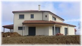 Maison d'inspiration moderne dans le Lauragais