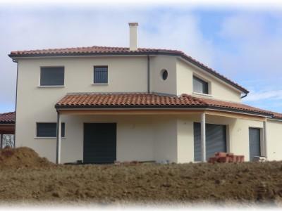 Maison d'inspiration moderne dans le Lauragais…