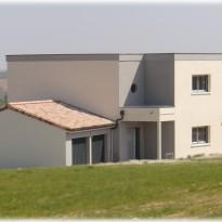 Maison moderne à Nailloux