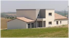 maison moderne a Nailloux