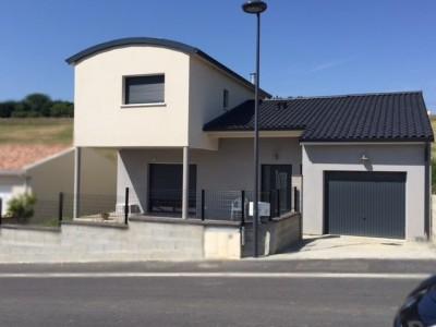 Maison individuelle toit bac acier à Nailloux