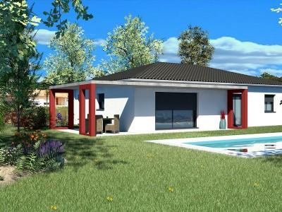Maison individuelle de plain-pied T5 TAMALIN – 102 m²