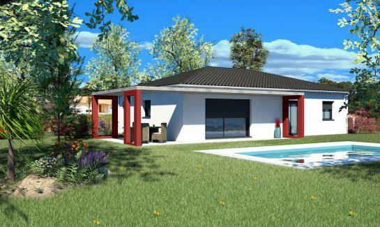 maison plain-pied T5 102 m2 TAMALIN