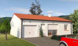 maison plain-pied classique 75 m2 BOCOTTE