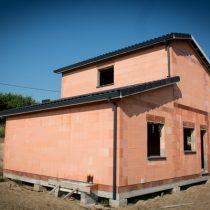 Maison en construction à Saint-Léon (31560)