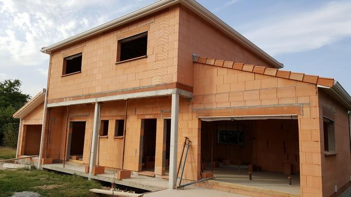 chantier maison a etage Saint-Orens-de-Gameville