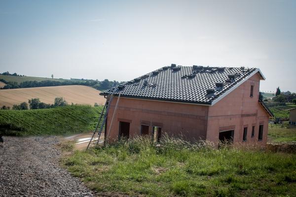 maison a etage en construction saint-leon 31560