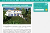 article Construire sa maison.com 09-2017