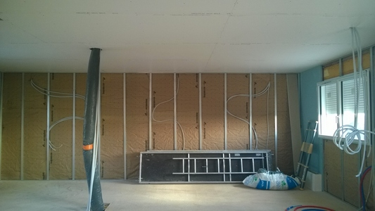 Isolation murs maison pilote E3C2 LBL Ramonville 1