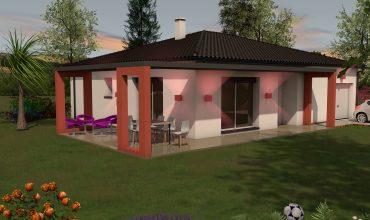 Villa T4 plain-pied Gemil