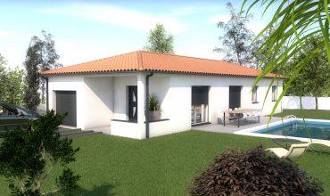 maison moderne T4 90 m2