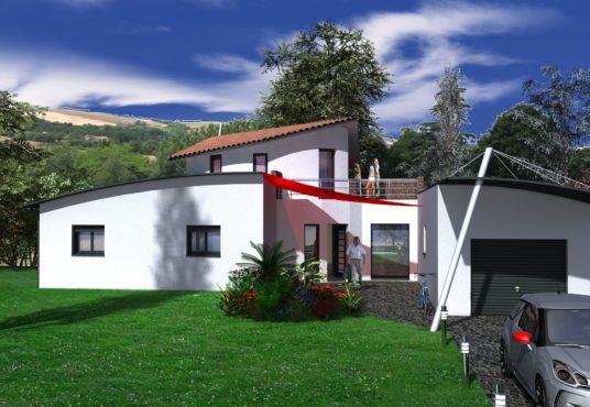 Maison contemporaine 130 m2