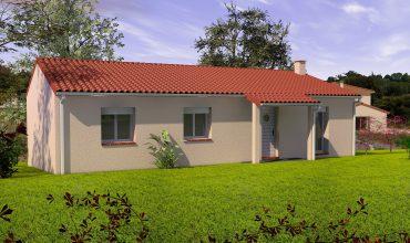 maison 3 chambres 90 m2