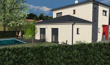 maison à étage 100 m2