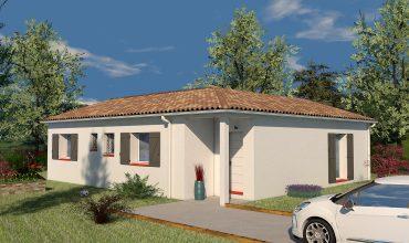 maison plain-pied T4 90 m2