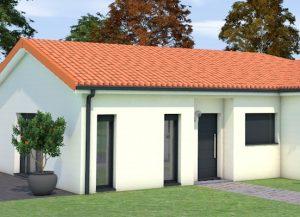 Ouverture fixe maison contemporaine