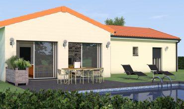Villa 100 m2 plain-pied